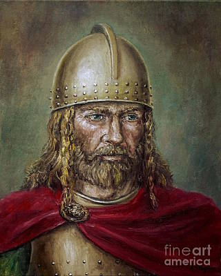 Painting - Alaric The Visigoth by Arturas Slapsys