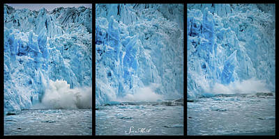 Photograph - Alaska 4028 Triptych by Scott McAllister