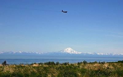 Photograph - Alaska Air by Mario Marsilio