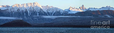 Alaska Coastal Range Panorama Art Print by Mike Reid