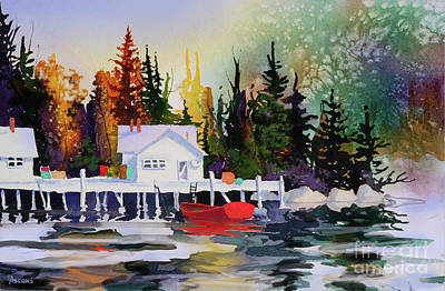 Painting - Alaska Dock by Teresa Ascone