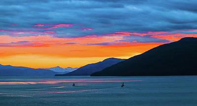 Photograph - Alaska Fishermans Sunset by Jason Brooks