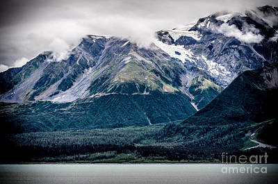 Photograph - Alaskan Glacier by Mary Carol Story