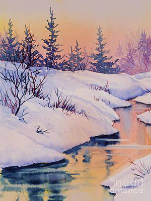 Painting - Alaska Gold by Teresa Ascone
