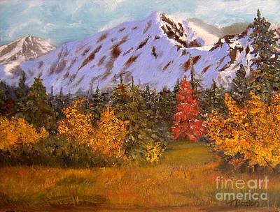 Painting - Alaska Highway Series No. 21 by Teresa Boston