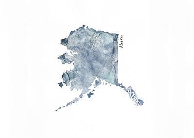 Alaska - Horiztonal Art Print by Katrina Ryan