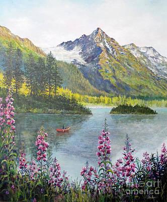 Painting - Alaska by Lou Ann Bagnall