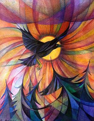 Alaska Morning Art Print