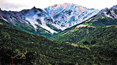 Photograph - Alaska Mountains by Bill Howard