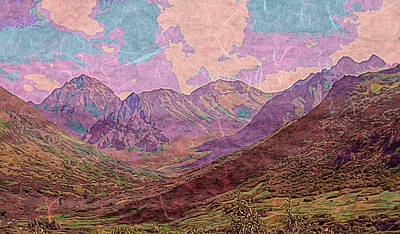 Photograph - Alaska Mountains Landscape by Aimee L Maher Photography and Art Visit ALMGallerydotcom