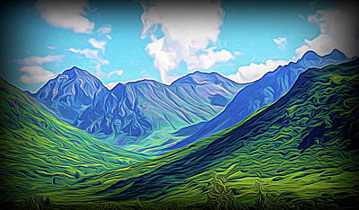 Photograph - Alaska Mountains Power by Aimee L Maher ALM GALLERY