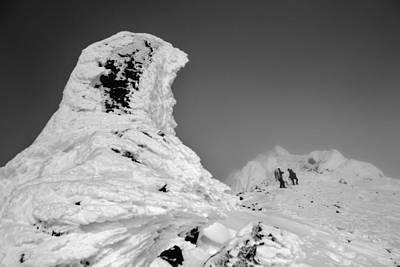 Alaska Range Alpine Stone Pillars Art Print