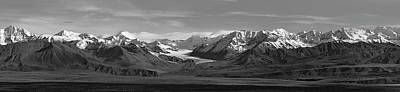 Photograph - Alaska Range Center Panel by Peter J Sucy