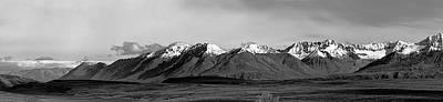 Photograph - Alaska Range Left Panel by Peter J Sucy