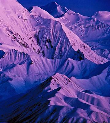 Alaska Range Twilight Art Print by Tim Rayburn