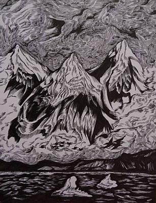 Alaska Song Art Print by Anna  Duyunova