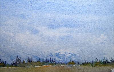 Painting - Alaska Study 2 by Carolyn Doe