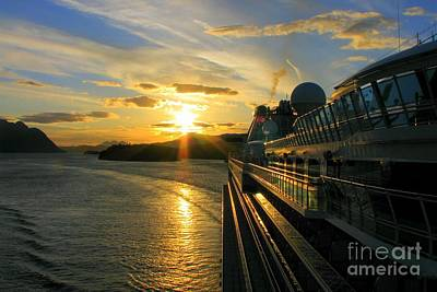 Photograph - Alaska Sunset by Frank Townsley