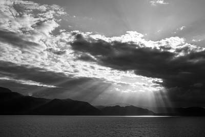 Photograph - Alaska Sunset by Yvette Van Teeffelen
