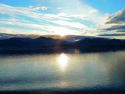Photograph - Alaska Sunset by Gerald Greenwood