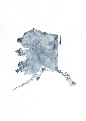 Alaska - Vertical Art Print by Katrina Ryan