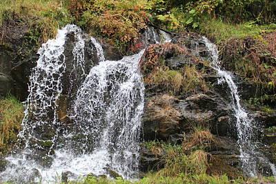 Photograph - Alaska Waterfall by Trent Mallett