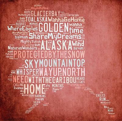 Digital Art - Alaska - Where Eagles Fly by Paulette B Wright