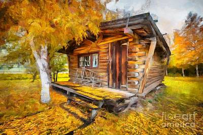 Alaskan Autumn Art Print