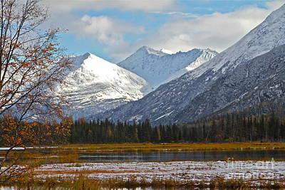 Photograph - Alaskan Autumn  by Rick  Monyahan