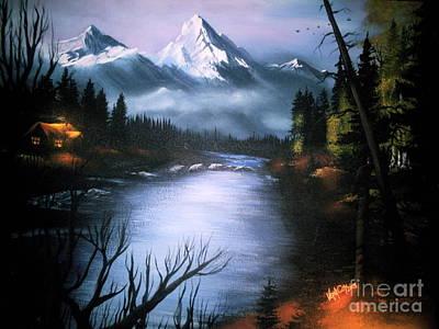 Painting - Alaskan Autumn by Verna Coy
