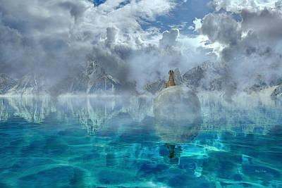 Snow Digital Art - Alaskan Avalon by Betsy Knapp
