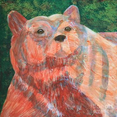 Painting - Alaskan Bear by Donald J Ryker III