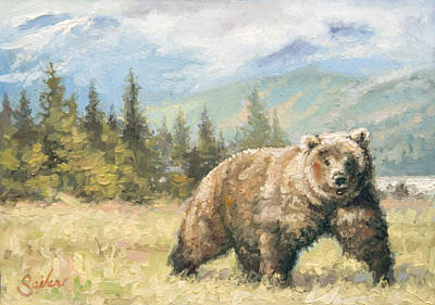 Painting - Alaskan Brownie by Larry Seiler