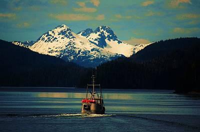 Alaskan Cruise Print by Helen Carson