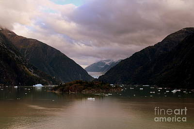 Photograph - Alaskan Fjiord by Lennie Malvone
