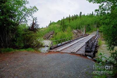 Photograph - Alaskan Highway Bridge by David Arment