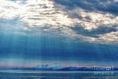 Photograph - Alaskan Landscape And Snow Capped Mountain by David Arment