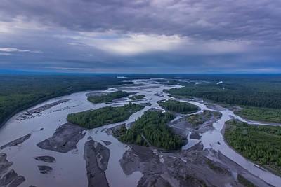 Photograph - Alaskan Landscape by David Warrington