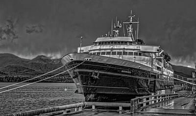 Photograph - Alaskan Marine Highway  by Timothy Latta