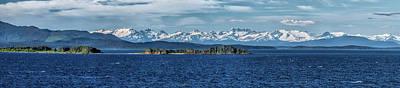 Wall Art - Photograph - Alaskan Mountain Panorama by Martin Belan