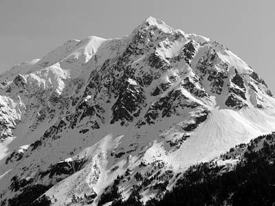 Alaskan Peak Art Print by Ty Nichols
