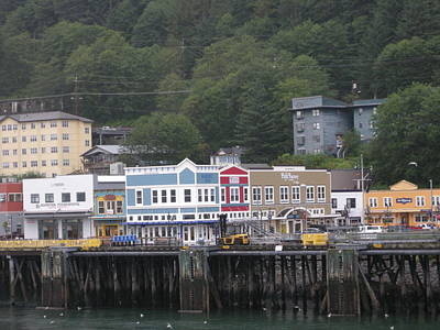 Photograph - Alaskan Port by Quwatha Valentine
