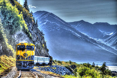 Alaskan Railroad Art Print by John Coffey