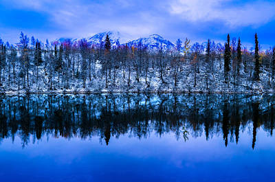 Photograph - Alaskan Reflections by Brian Stevens