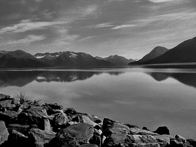 Photograph - Alaskan Serenity by Robert Meyers-Lussier