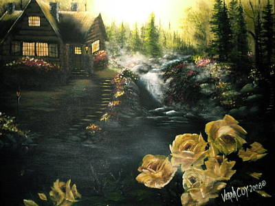 Painting - Alaskan Summer Day by Verna Coy