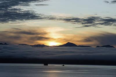 Photograph - Alaskan Sun Rise by Allen Carroll