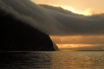 Photograph - Alaskan Sunset by Harry Spitz