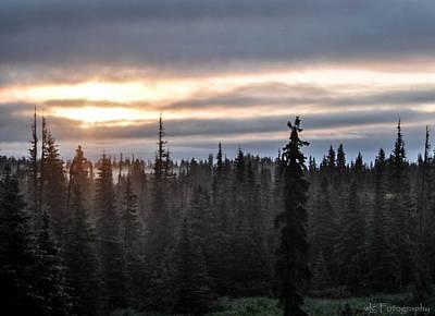 Alaskan Sunset Sunrise Art Print
