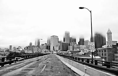 Alaskan Way Viaduct Downtown Seattle Print by Pelo Blanco Photo